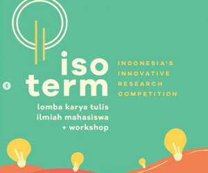 Indonesia's Innovative Research Competition (ISOTERM) ITB 2021