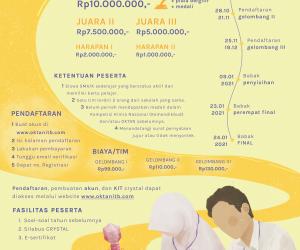 Pembukaan Pendaftaran CRYSTAL 2021