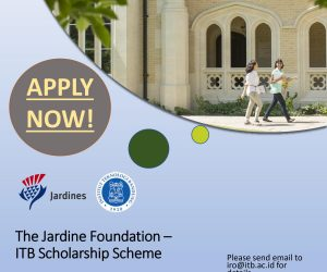 2022 Jardine Foundation – ITB Scheme